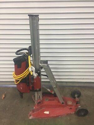 Hilti Dd 200 Concrete Diamond Core Drill System With Stand Vacuum Pump