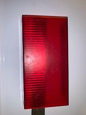 Whelen Edge 9000 9m Style Lens Red 6 18