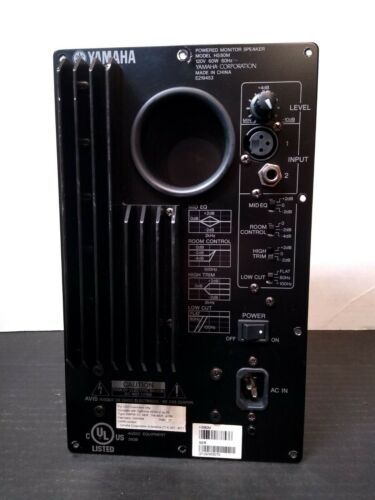 GENUINE YAMAHA HS-80M PLATE AMPLIFIER REPLACEMENT - WORKING