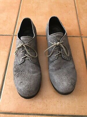 Alexandre Plokhov Guidi Dusty Grey Derbies 44 US 11
