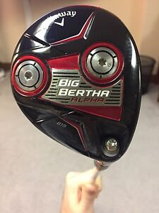 Cobra Fly-z + driver and callaway 3-wood
