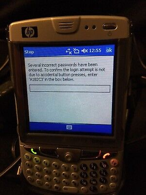 Hp Ipaq  Model Hw6925 Pre Owned Charger  Adapter And Accessories