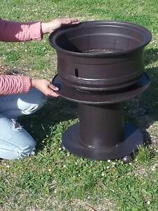 Steel fire pit heavy duty Trigg Stirling Area Preview