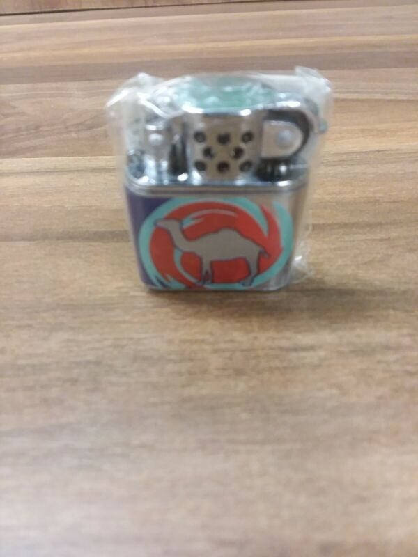 New In Box Vintage Camel Lighter Small Camel Graphic 1997Nes