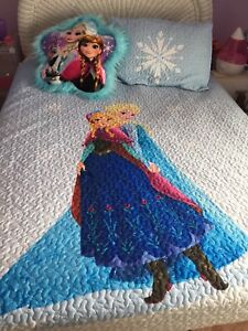 Frozen quilt and wall decal