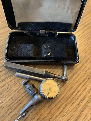 Vintage Starrett No. 711-f Last Word Universal Indicator In Original Box