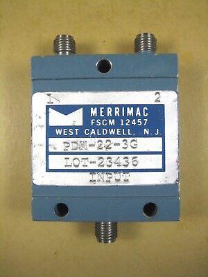 Merrimac Pdm-22-3g Power Splitter