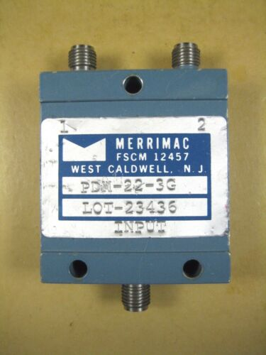 Merrimac  PDM-22-3G  Power Splitter