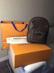 Louis Vuitton Monogram Macassar Josh Backpack