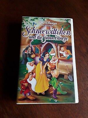 VHS Walt Disney Klassiker Schneewittchen und die sieben Zwerge