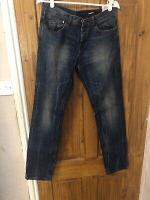 Iceberg Jeans Mens W33 L34 London Blue