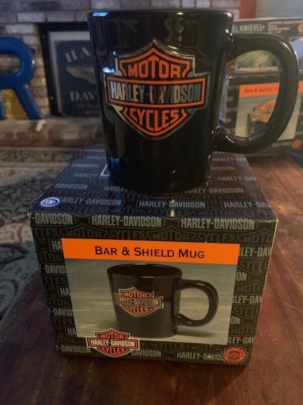 Harley-Davidson Bar & Shield Mug NIB 2000 Vandor