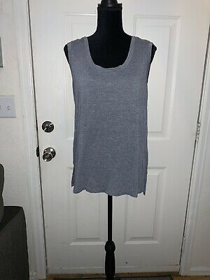 Womens Added to 1X RBX Activewear Tank Top Blue