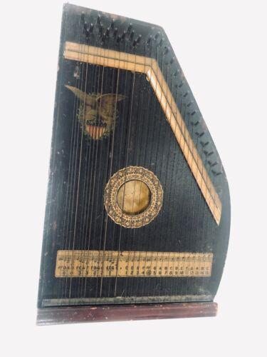 ANTIQUE Wooden Autoharp