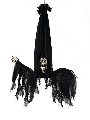 Halloween Figur PSYCHO Motor+Sound+LED Grusel - Halloween Grusel Sound
