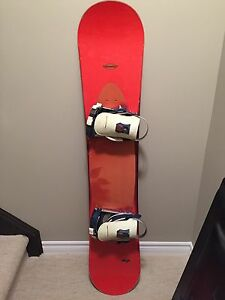 Sims CD 150 Snowboard with Ride Preston bindings