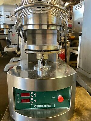 Cuppone Pizza Dough Forming Press Pzf35ds-b-us 208-220v 3-ph. Used