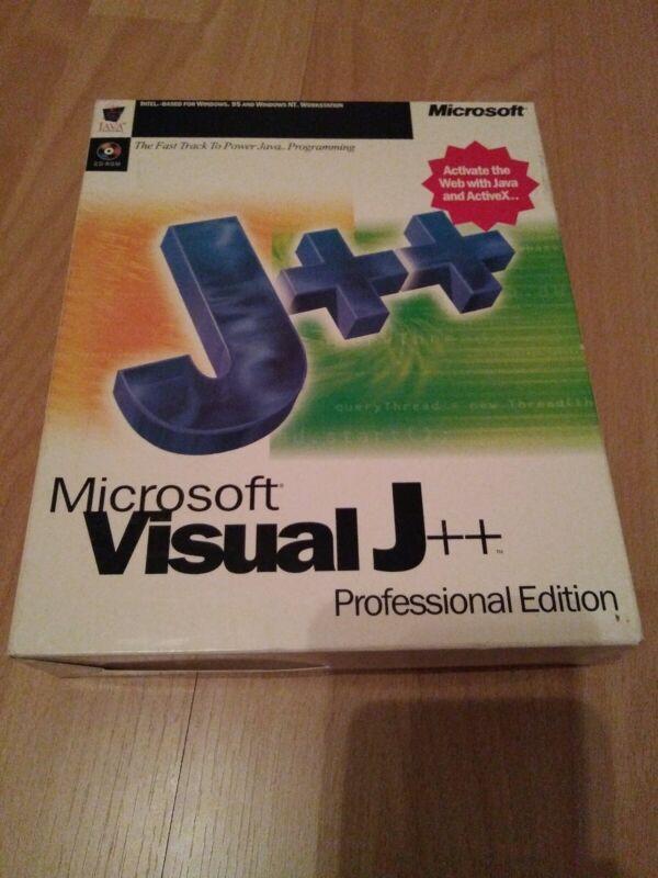 Microsoft Visual J