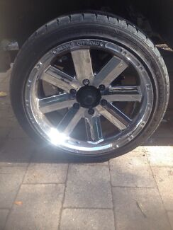 6 stud 18 inch incubis wheels with 235/45/18 tyres Kambah Tuggeranong Preview