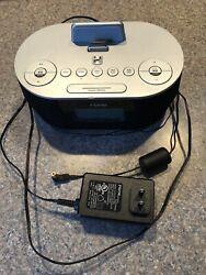 iHome Dual Charge Plus Play FM Radio Alarm Clock iPhone 4, iPod iDN38 USB Dock