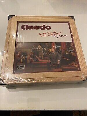 Cluedo Edition Vintage (RARE, Version Française En Bois, Scellé)