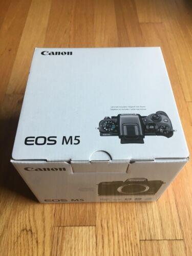 Canon EOS M5 Mirrorless Camera (Body Only) Black 1279C001