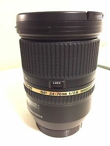Tamron 24-70mm f2.8 Lens, Canon Mount