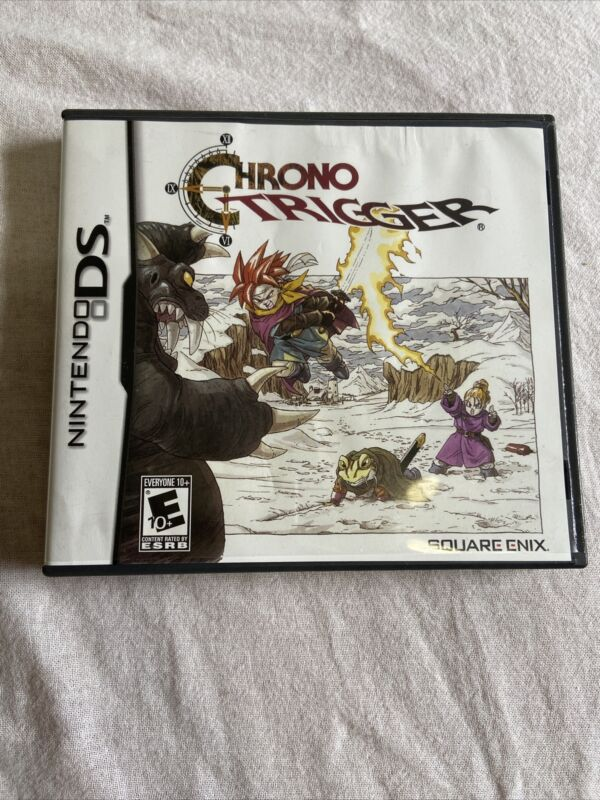 Chrono Trigger (Nintendo DS, 2008) Box And Book Only No Game