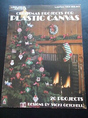 Christmas Projects For Plastic Canvas Leaflet 153 - Leisure Arts ~ 20 Projects](Christmas Projects)