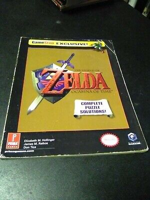 Legend of Zelda Ocarina of Time Game Stop Exclusive Strategy Guide