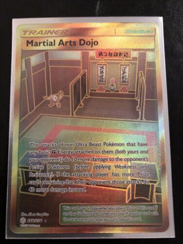 Martial Arts Dojo 268/236 Pokemon TCG Cosmic Eclipse Secret Rare Near Mint - $4.25