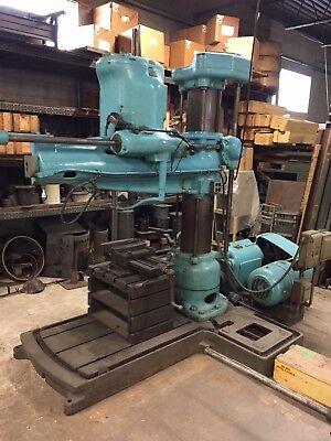 Cincinnati Radial Arm Drill Press 7.5hp 5mt