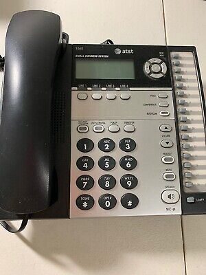 Att Advanced American Telephones Model 1040 4-line Corded Office Business Phone