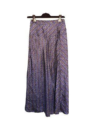 Isabel Marant Silk Long Wrap Skirt