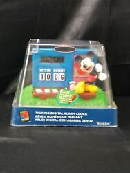 Disney Mickey Mouse Scoreboard Digital LED Alarm Clock