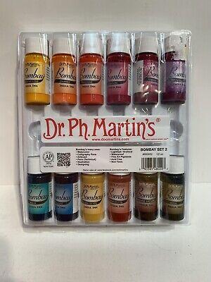 Dr. Ph. Martin's Bombay India Ink SET 2 — FREE SHIPPING