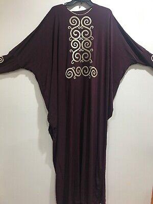 New Muslim Kaftan Abaya Jilbab Islamic Women Long Sleeve With Hijab Maxi Dress