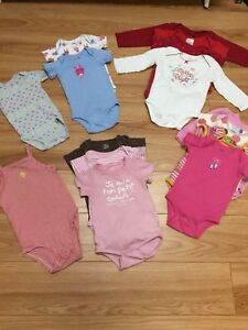 Lot vêtements fille 6-18 mois