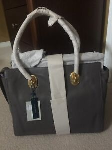 Cole Haan leather work tote grey - Brand new