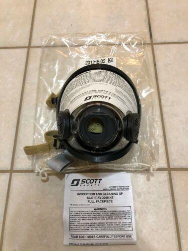 3M Scott AV-3000 HT Full Facepiece SCBA CBRN Firefighter 201215-02 -Medium - NEW