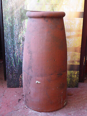 Reclaimed Chimney pot. CURVE ROLL TOP. Garden planters/ornament.Others available