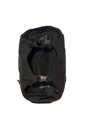 Osprey Porter 46L Travel Backpack - Black