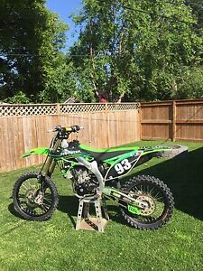 2011 KX450F solid bike