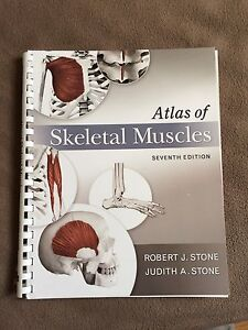 Atlas of skeletal muscles 7th edition
