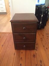 Bedside tables Kings Park Blacktown Area Preview