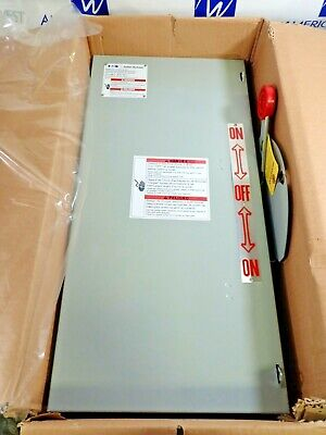 New Eaton Dt363ugk 100 Amp 600 Volt Non Fused Double Throw Transfer Switch