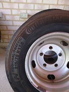 Continental 215/75r17.5 brand new on wheel Rockingham Rockingham Area Preview