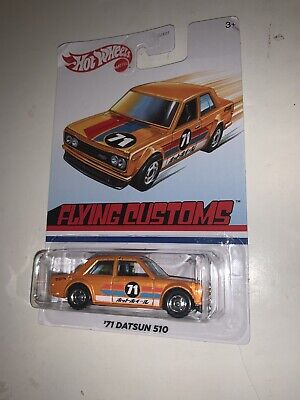 HOT WHEELS 2020 TARGET EXCLUSIVE FLYING CUSTOMS  '71 DATSUN 510 HTF! Error Pack