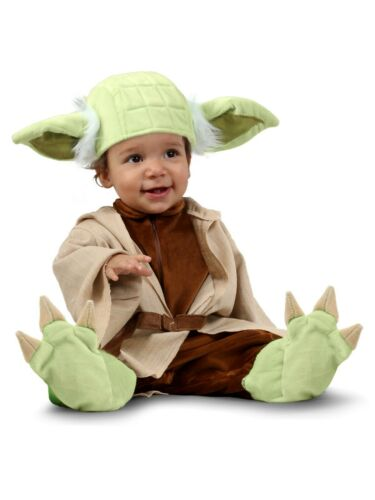 Yoda PREMIUM Deluxe Star Wars Costume Newborn Infant Baby 0 3 6 9 12 months