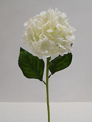 Hortensie Seidenblume Kunstblume L 55 cm weiß creme 104171-40 F18